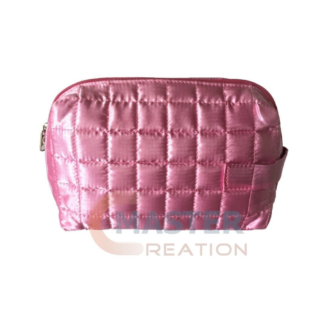 quilted satin bag