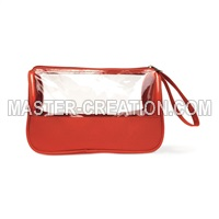 cosmetic bag with window