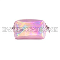 holographic leather bag